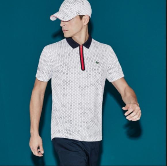 388a13f4 Lacoste Shirts | Mens Sport Ultra Dry Zip Tennis Polo | Poshmark